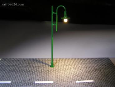 5x Street lighing green LED 80mm